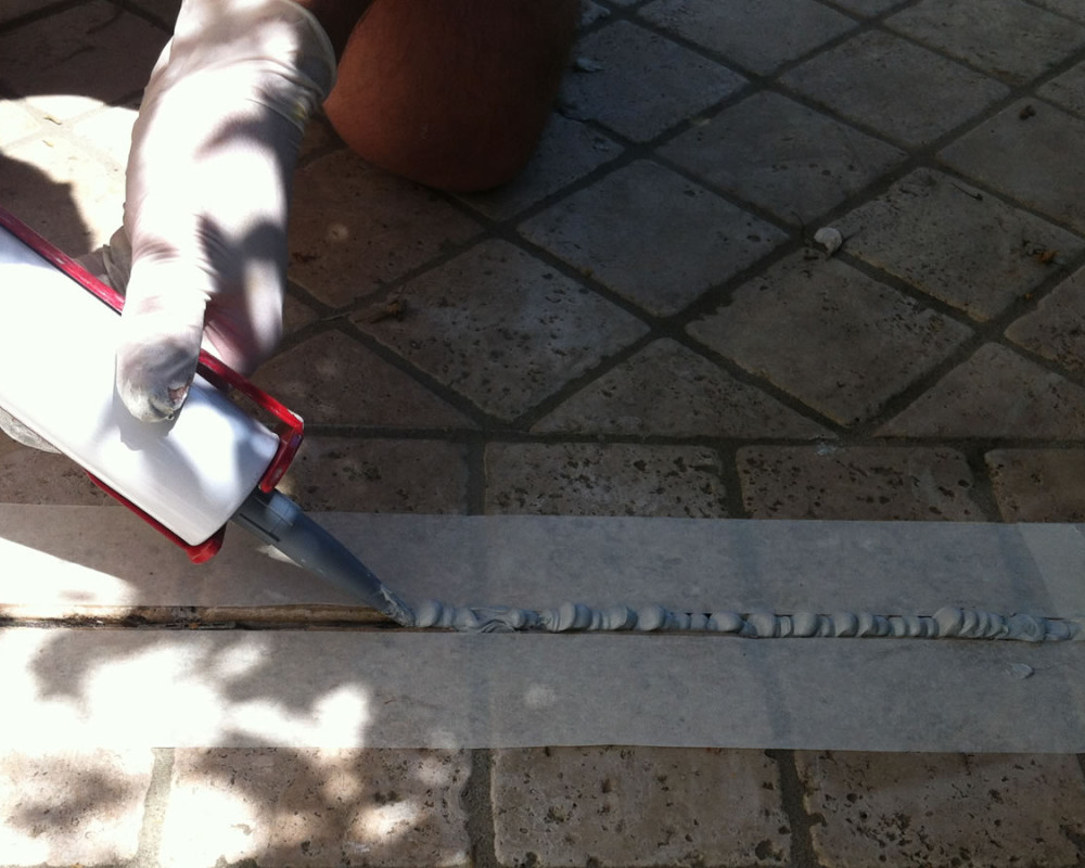 Sealing of joints with PROTECH FLEX
