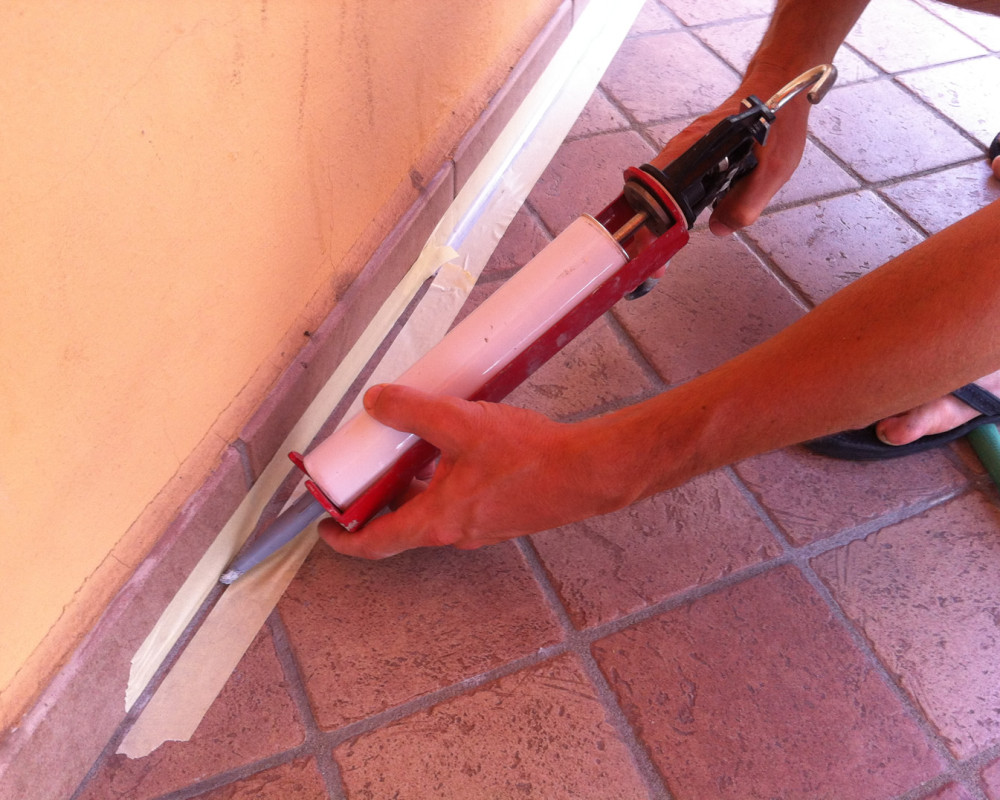 Joint sealing with PROTECH FLEX