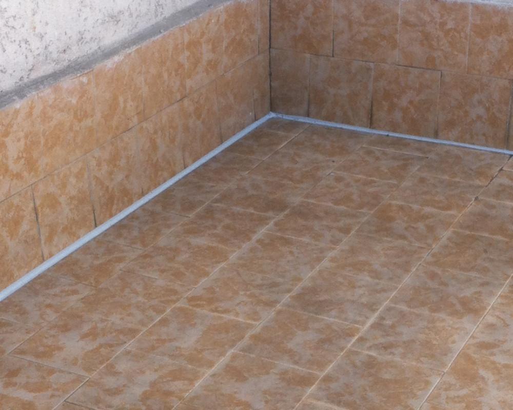 Waterproof sealing in place