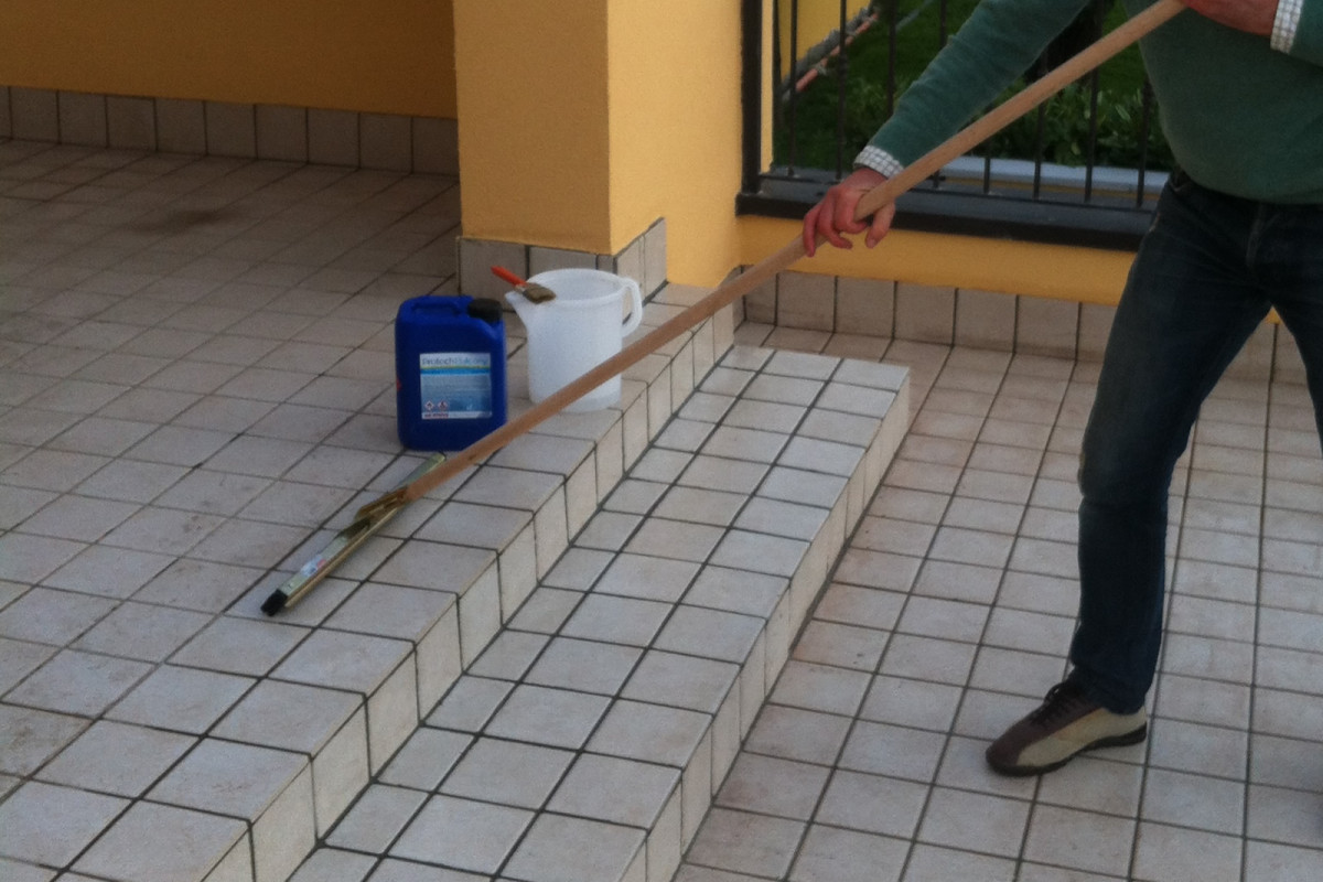 Laying of PROTECH BALCONY