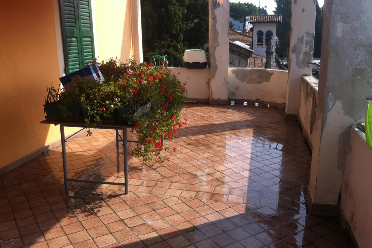 impermeabilizzazione di una terrazza