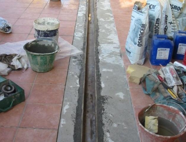 Os produtos utilizados para a impermeabilização
