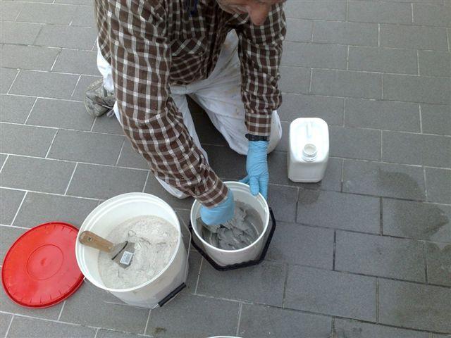 Preparazione dello stucco ad elevata adesione ed impermeabilità intrinseca STUCCO BALCONY