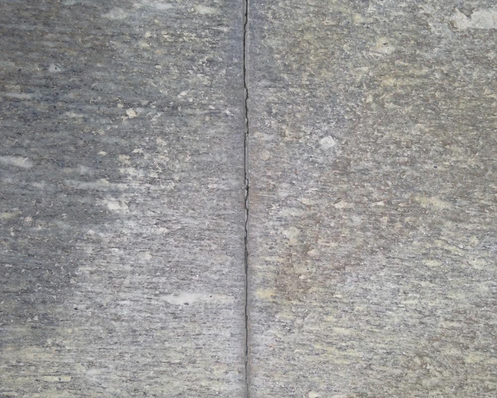 Le fessure da stuccare